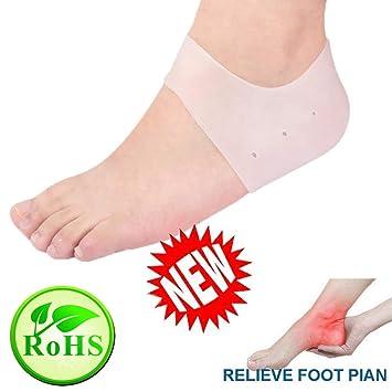 5fe5fef4ca Heel Cups, Plantar Fasciitis Inserts, Gel Heel Pads Cushion New Material  Great for Heel