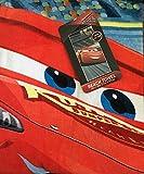 Disney Pixar Cars 3 Lightning McQueen on the Track  'Quicker than Quick, I AM SPEED' Beach Towel