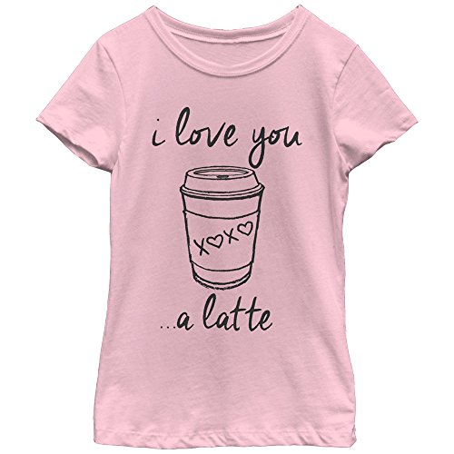 (Fifth Sun Big Girls' Food and Drink Graphic T-Shirt, Pink Drawing, X-Large/14-16)