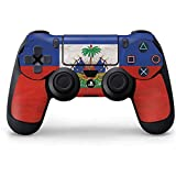 Cheap Countries of the World PS4 Controller Skin – Haitian Flag Distressed