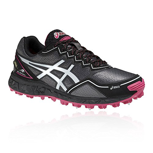 Noir tex Running Asics Chaussures Gel Gore fujisetsu Femme Trail qW86qC