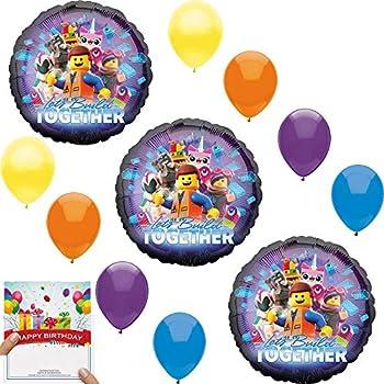 Amazon.com: El Lego Película de Batman fiesta de cumpleaños ...