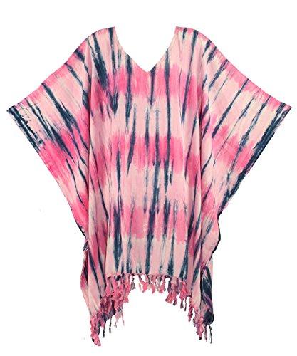 Hippie Tunic Blouse - Beautybatik Boho Hippie Tie Dye Tunic Blouse Kaftan Top 4X