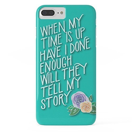 Pretty Lee Phone Case Protective design Cell Case Hamilton Quote Slim Case iPhone 6