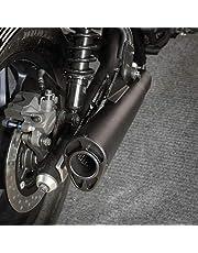Motorcycle CMX500 Black Exhaust Pipe Slip On Muffler Compatible with 17-21 Honda Rebel CMX 500 Rebel500 2017 2018 2019 2020 2021 Stainless Steel Accessories