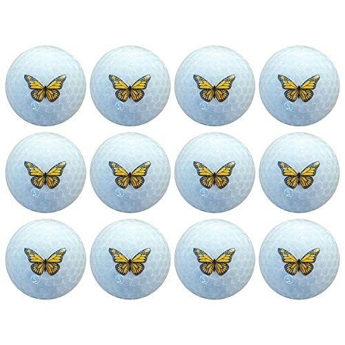 Crystal Specialty Golf Balls - Butterfly
