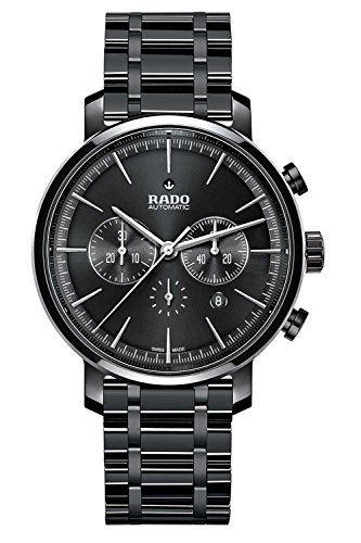 Rado Diamaster New R14075182 45mm Automatic Ceramic Case Black Ceramic Synthetic Sapphire Men's Watch