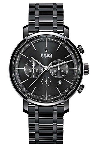 Rado Diamaster New R14075182 45mm Automatic Ceramic Case Black Ceramic Synthetic Sapphire Men's Watch