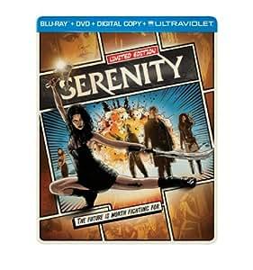 Serenity (Steelbook) (Blu-ray + DVD + Digital Copy + UltraViolet)