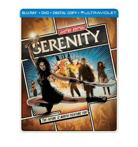 Serenity (Steelbook) (Blu-ray + DVD + Digital Copy + -