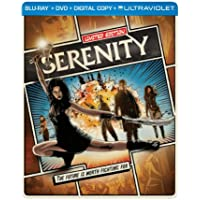Serenity on Blu-ray/DVD (Ultraviolet with Digital Copy)