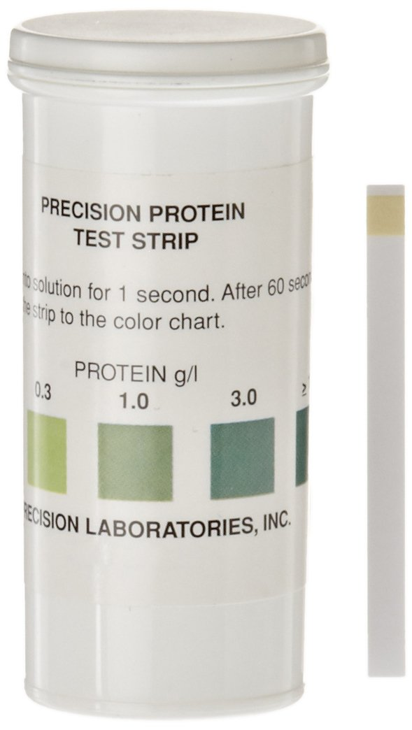Precision Labs Protein Test Strips (Pack of 50)