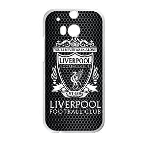 Liverpool Football Club White htc m8 case