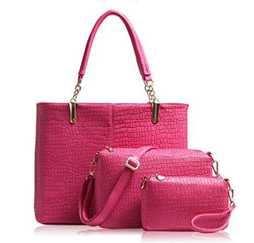 Beautiful New Fashion Woman Lady Bag Clutches Cross-body Tote Bag Satchels Pu Leather Bag