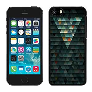 New Personalized Custom Designed For iPhone 5C Phone Case For Colored Abstract Triangles Phone Case Cover