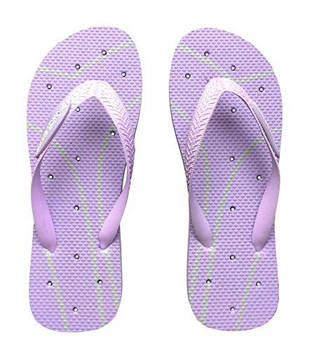 aeca8c495 Shower Shoez Women s Antimicrobial Non-Slip Pool Dorm Water Sandals Flip  Flops
