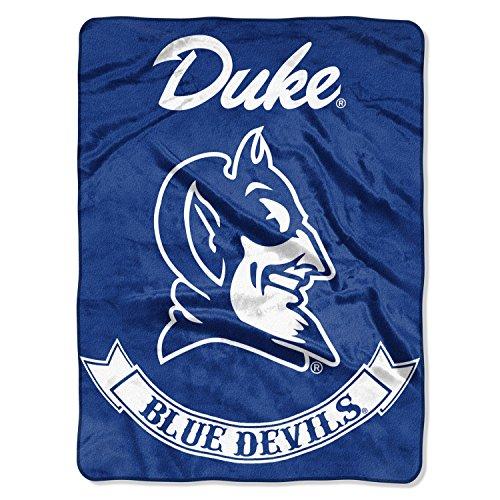 The Northwest Company Duke Blue Devils Rebel Raschel Throw Blanket 60 x 80 (Duke University Best Known For)