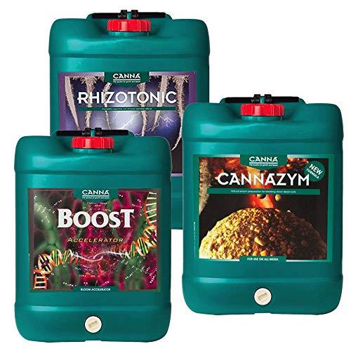 Canna Boost, Cannazym, Rhizotonic planta aditivos nutrientes ...