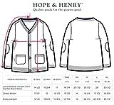 Hope & Henry Boys' Scarlet Cardigan Sweater
