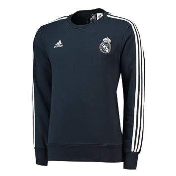 adidas Real Madrid Sweat Top Sudadera, Hombre: Amazon.es: Deportes y aire libre