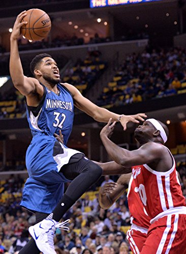 Karl Anthony Towns Minnesota Timberwolves Basketball Limited Print Photo Poster Size 24x36