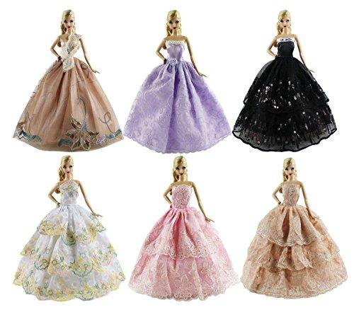 handmade barbie dress - 6