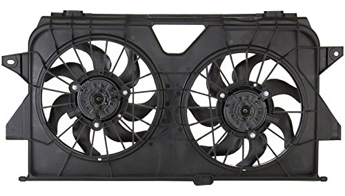 (Sunbelt Radiator And Condenser Fan For Dodge Grand Caravan Chrysler CH3115145 Drop in Fitment)