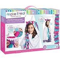 Make It Real Unicorn Hoodie Blanket. Wearable Unicorn...