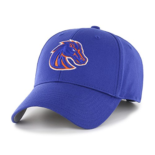 NCAA Boise State Broncos OTS All-Star MVP Adjustable Hat, Royal, One Size - Broncos State Hats Boise