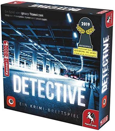 Pegasus Spiele 57505G - Detective (deutsche Ausgabe)