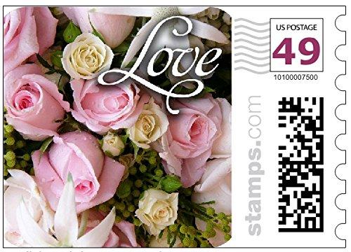 Wedding Invitation Postage Stamp - 5