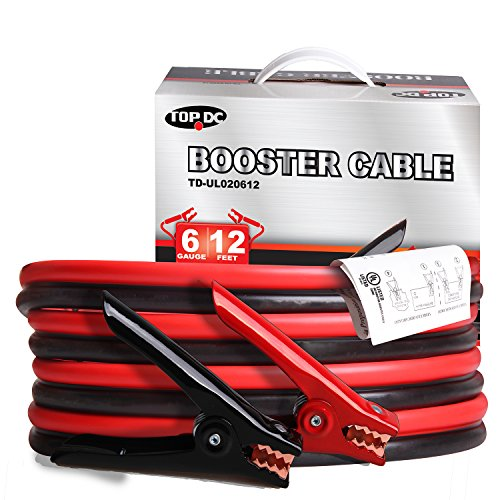 12 feet booster cables - 5