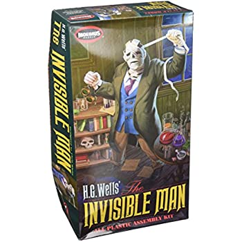 Moebius Models HG Wells Invisible Man Plastic Assembly Kit, 1/8 Scale
