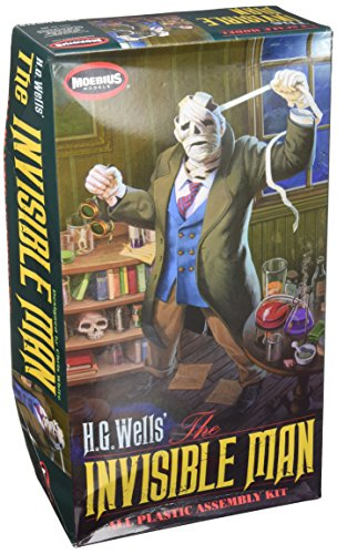 (Moebius Models HG Wells Invisible Man Plastic Assembly Kit, 1/8 Scale)