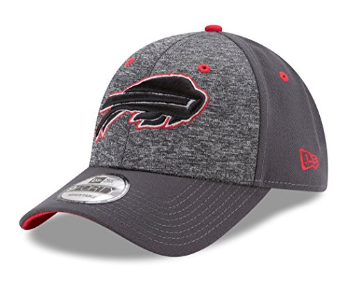 NFL Buffalo Bills Adult Men The League Shadow 2 9FORTY Adjustable Cap, One Size, Graphite