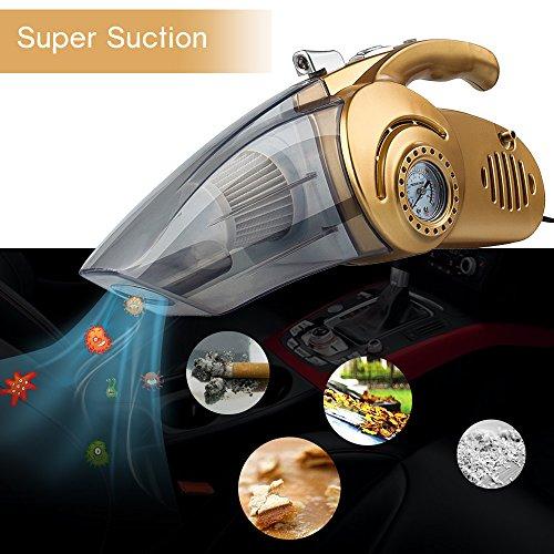 [해외]ARCHEER 자동 자동차 진공 청소기 휴대용 다용도 먼지 떨이 습식 건식 12V 100W 휴대용 자동차 공기 압축기 타이어 팽창기 펌프 압력 게이지 150 PSI/ARCHEER Auto Car Vacuum Clean
