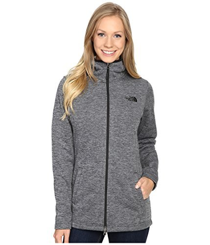 - The North Face Women's Meadowbrook Raschel Parka (Small, Tnf Black Heather)