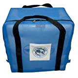 MJM International 118-KD-BAG W/LOGO Carry Bag for Knocked Down Standard Chair, 26 oz Capacity