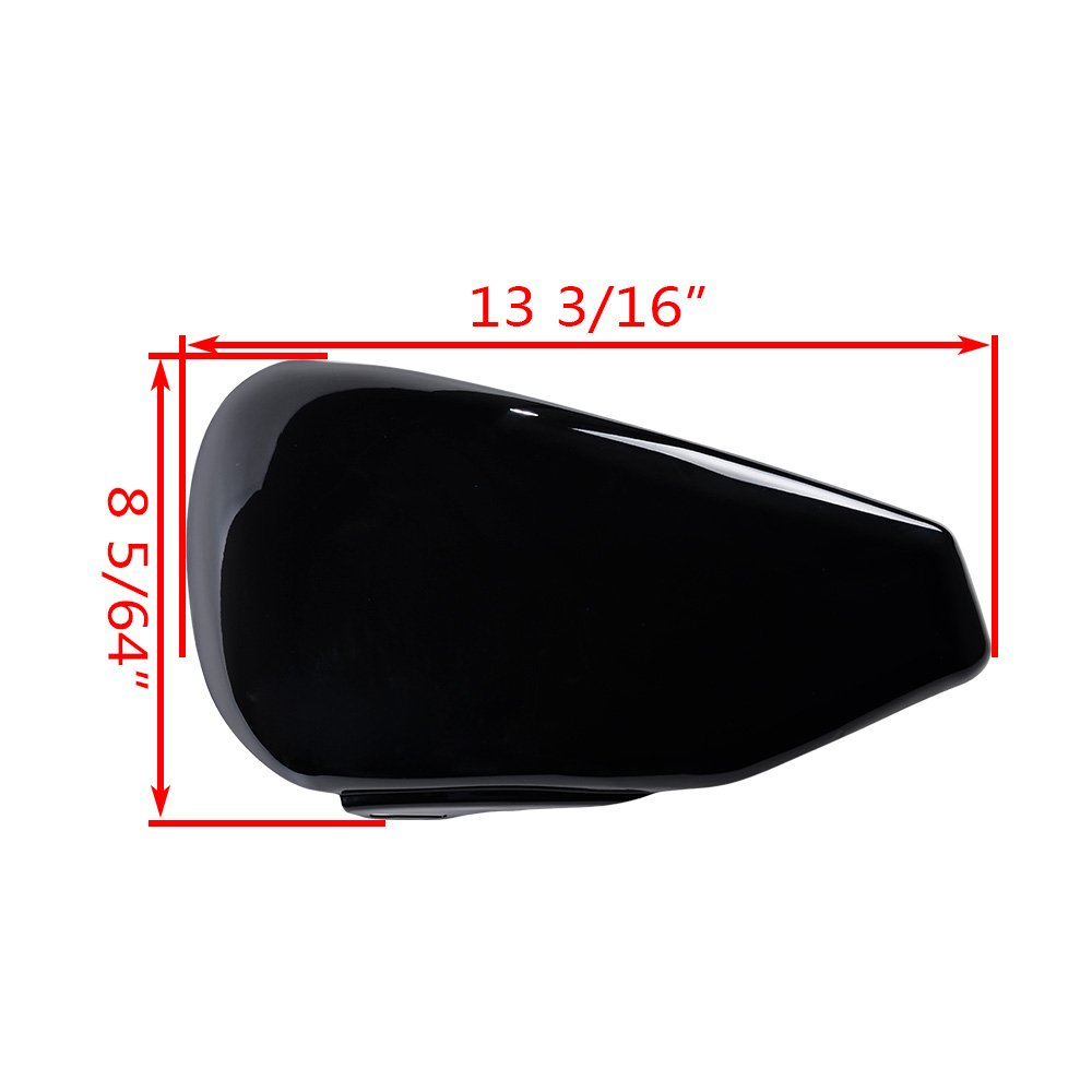 66261-04 Glossy Black Battery Cover for Harley HD Sportster XL 883 1200 04-13 OE