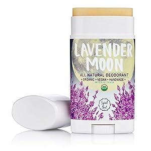 Spirit Nest Lavender Moon Organic, 100% Natural, Aluminum Free, Vegan Deodorant, All Day Protection, 2.5oz