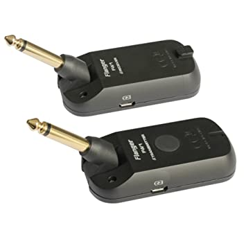 Sharplace Sistema Receptor de Transmisor Audio Sistema Inalámbrico de Guitarra Eléctrica