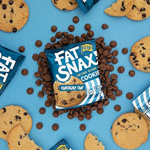Fat Snax Galletas - baja en carbohidratos, Keto, y sin azúcar (Variety Pack, paquete de 6 (12 galletas)) - Keto-friendly y Snack Foods sin gluten
