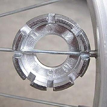1Pc Mountain Bicycle Repair Wheel Spoke Spanner Wrench Adjust Repair Park Tool√