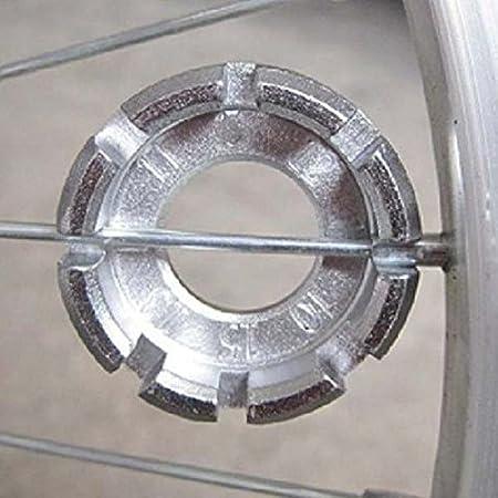 Bike Spoke Key Tool Spoke Adjuster Bicycle Wrench Spanner Wheel Rim Tight SH
