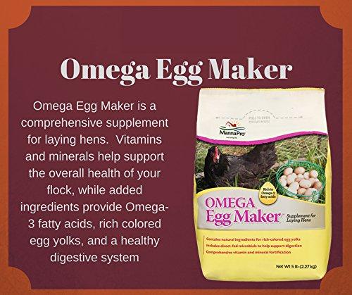 Manna Pro Omega Egg Maker Supplement, 5 lb by Manna Pro (Image #4)