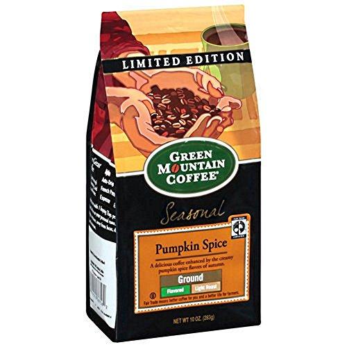 Green Mountain Coffee Pumpkin Spice 10oz Bag (Ground)