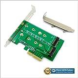 M.2 (NGFF) SSD to PCI-e Express 4X/SATA Adapter