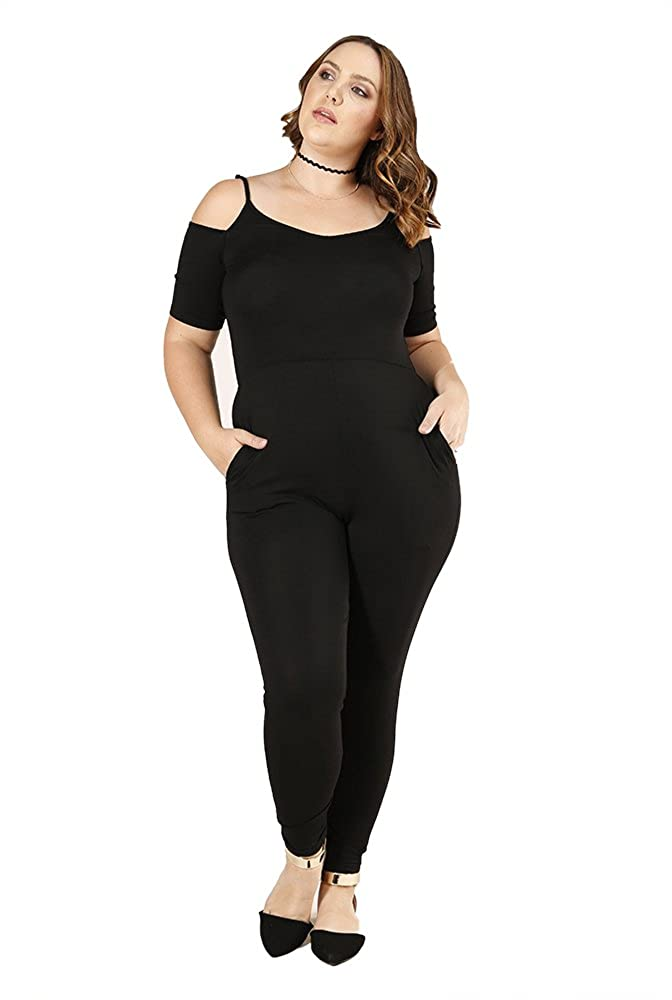 4857b72930057 Push that plus size dress to the side. Verona Couture s plus size rompers  are the perfect alternative to the classic black dress. Made of a  ultra-soft