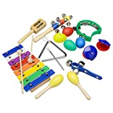Kids Musical Instruments Best Deals - Innocheer Musical Instruments Xylophone Set for Kids Percussion Toy