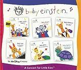 Baby Einstein Music CD Box Set - A Concert For Little Ears (Baby Mozart, Baby Beethoven, Baby Bach, Baby Galileo & Baby Neptune) **BONUS - LULLABY CLASSICS BONUS CD**